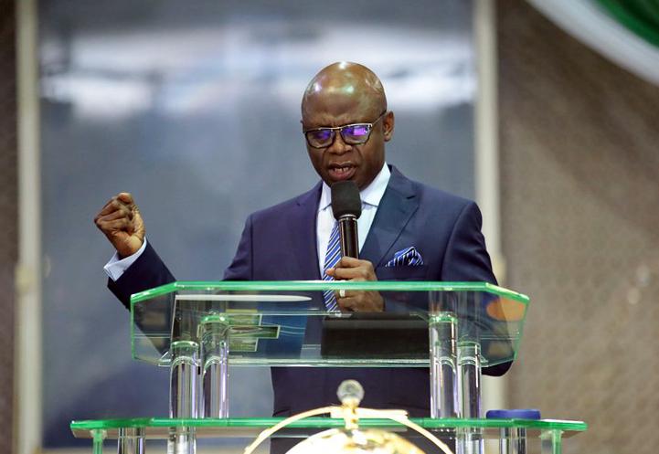 Video: Pastor Bakare declares self Nigeria's next President