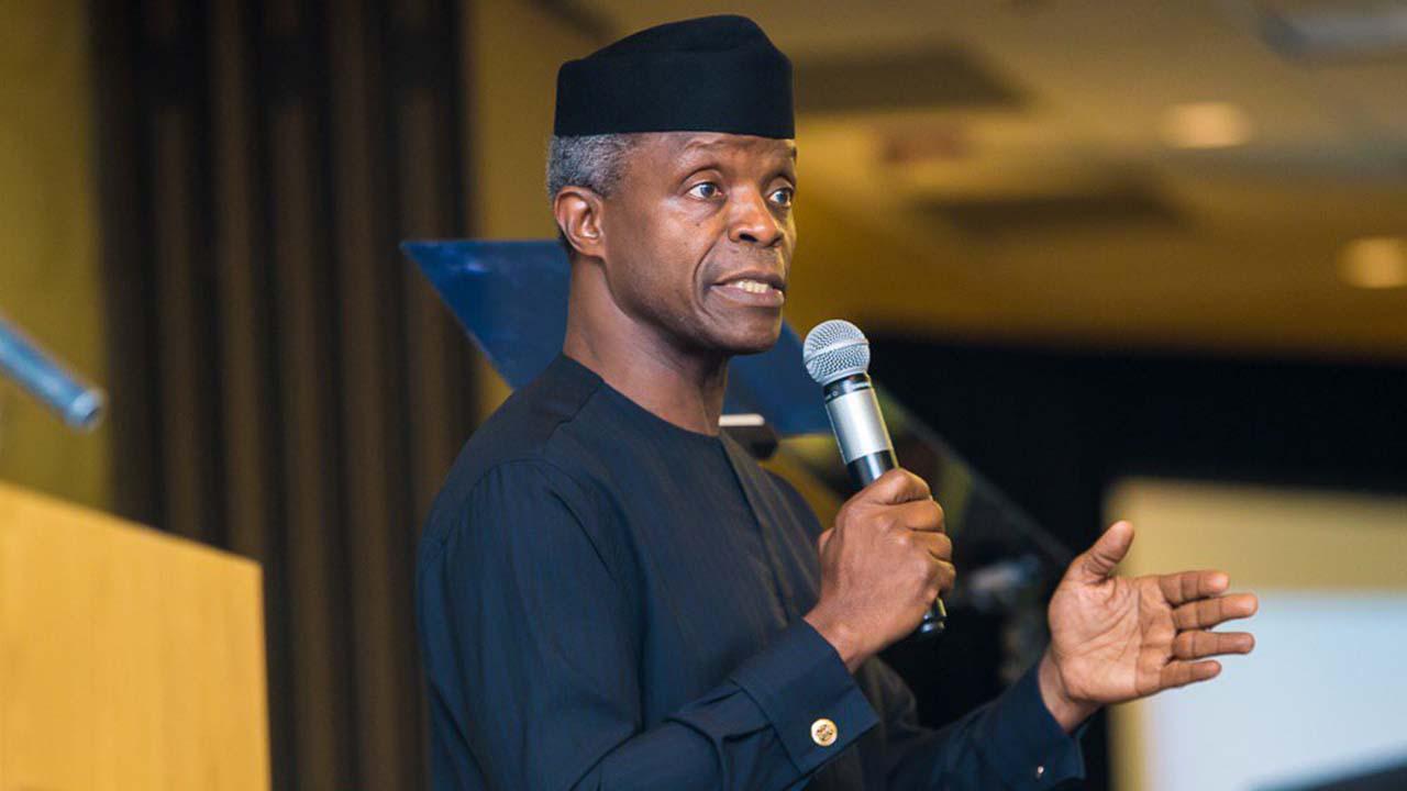 Osinbajo calls for righteousness to transform Nigeria