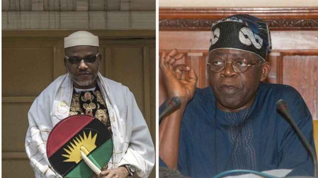 You are a disgrace to the Yoruba, Kanu blasts Tinubu