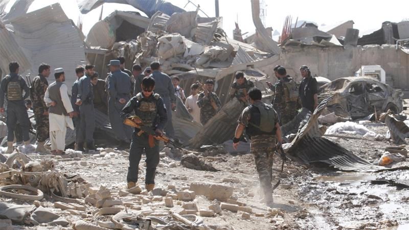 Villagers Search For Bodies As 70 Died In Afghan Blast