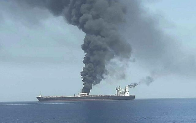 Iranian Tanker Hit By Suspected Missile Near Saudi Port