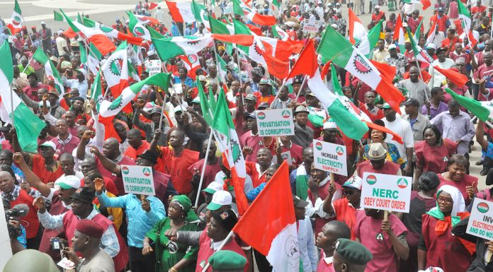 Labour Strike: NLC Shuts Offices And Schools In Asaba