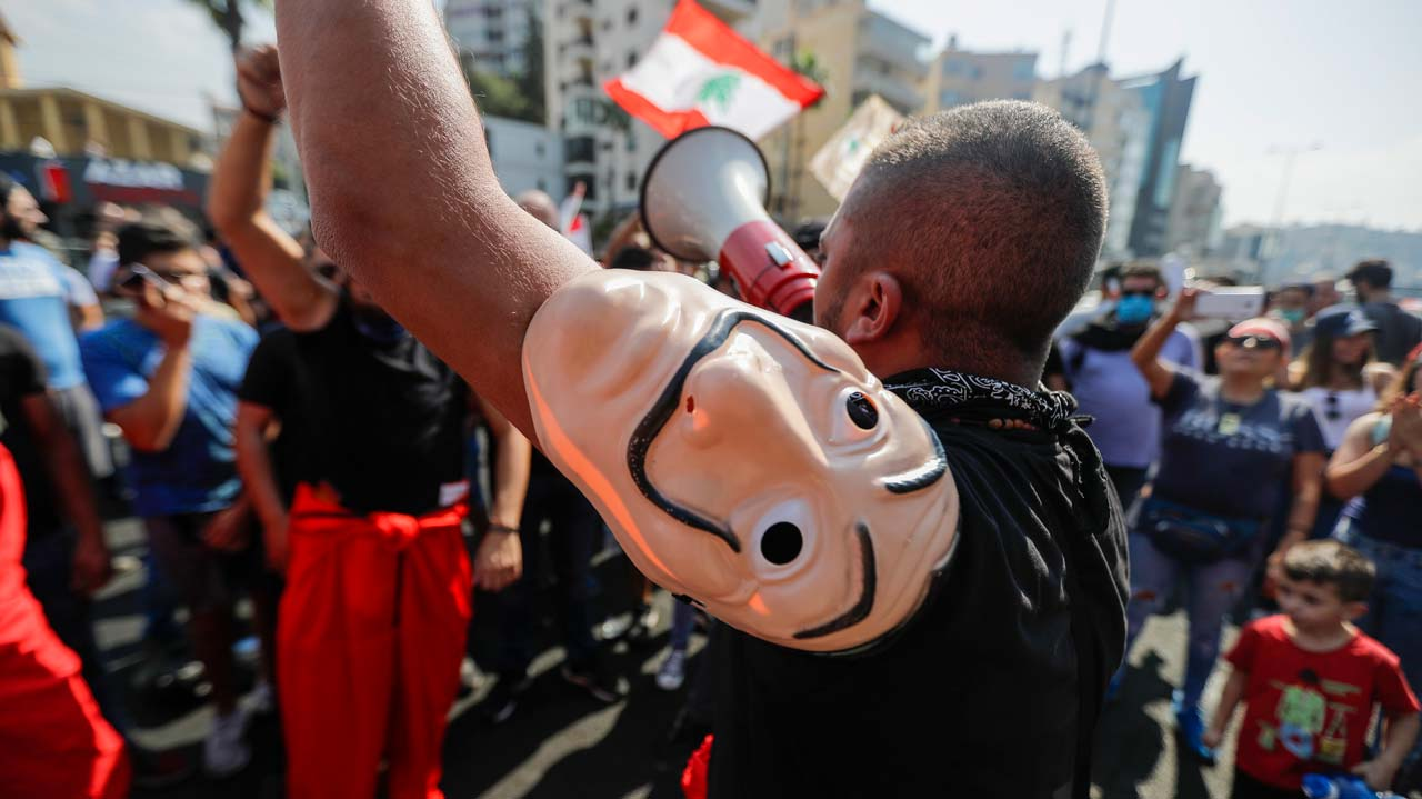 Hundreds Gather In Lebanon For Fresh Protests