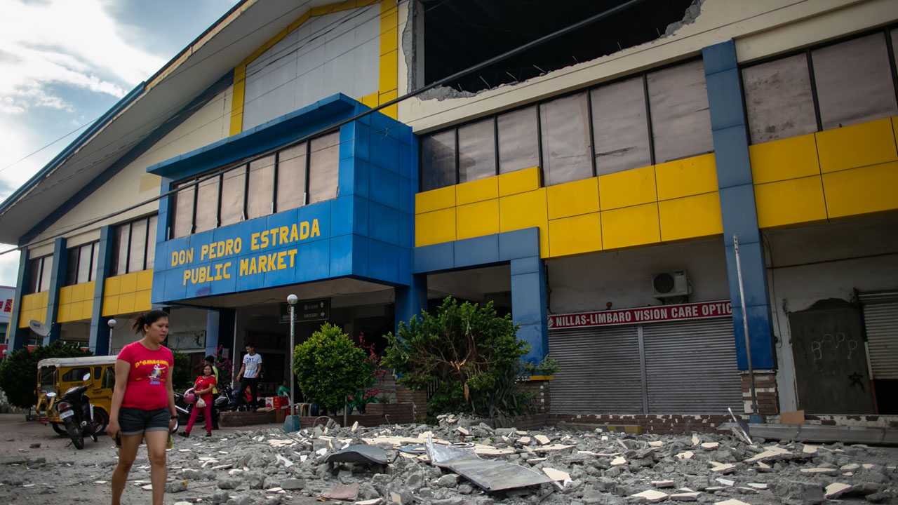 Five Dead, Many Sustained Injuries In Philippine Quake