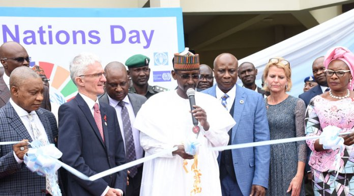 FG Commissions UN House, Eight Years After Boko Haram Hit