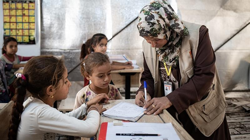 Rights Group: Iraq Education System On Brink Of Collapse