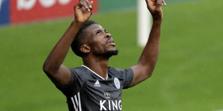 Iheanacho Short-Listed For Leicester's Goal-Of-The-Month