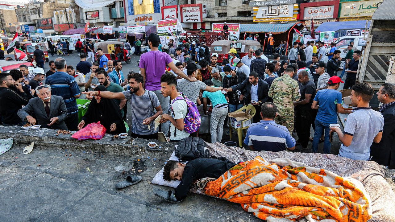 Iraq Protests: PM Sees Power Being Clipped By Rivals