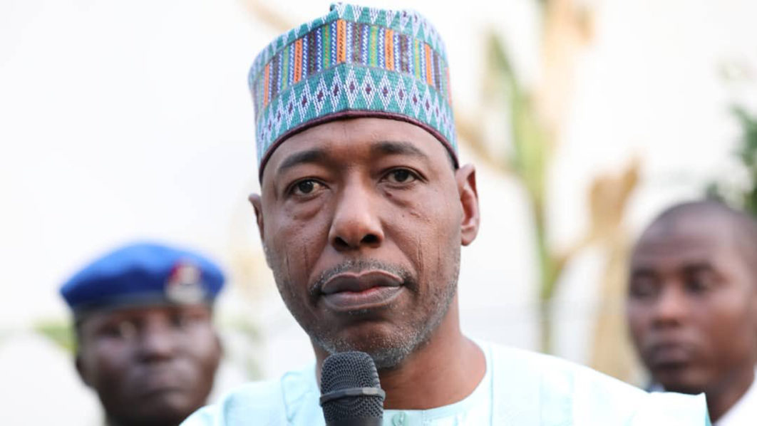 Gov Zulum Reacts To Attack On Convoy By Terrorists