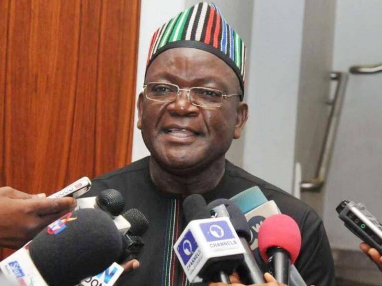 ₦10bn Suit: Ortom Gives Condition To Forgive Oshiomhole