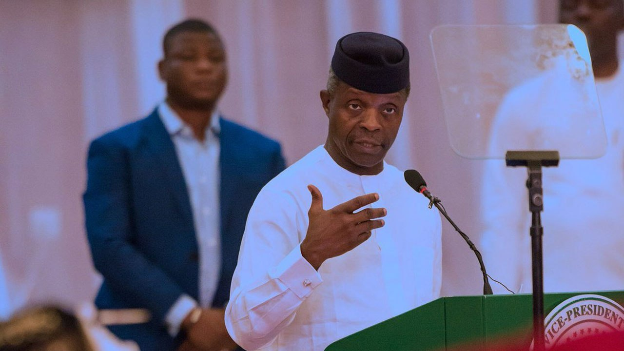 Osinbajo: Govt Has No Business Running Oil Refineries