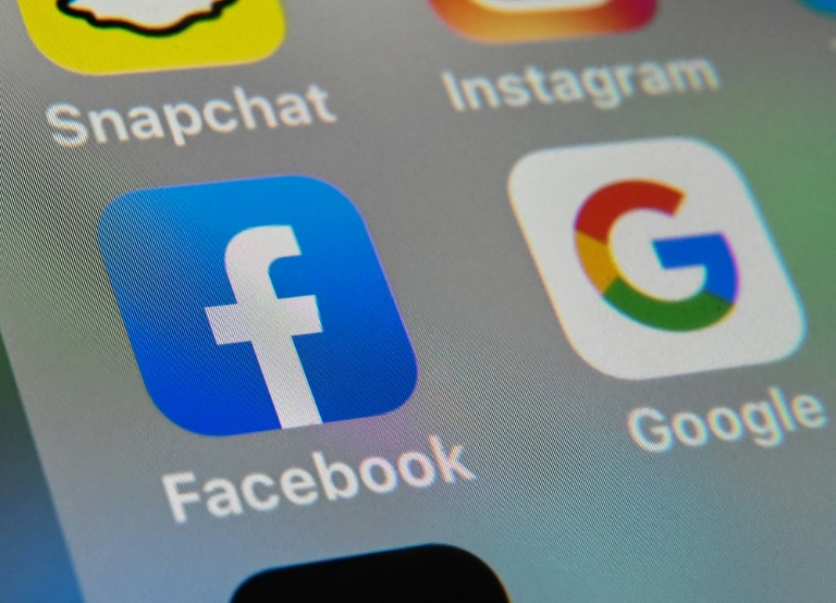 Facebook and Google dominate the fast-growing segment of digital political ad spending, which now accounts for nearly 20 percent of campaign advertising dollars, according to a survey
