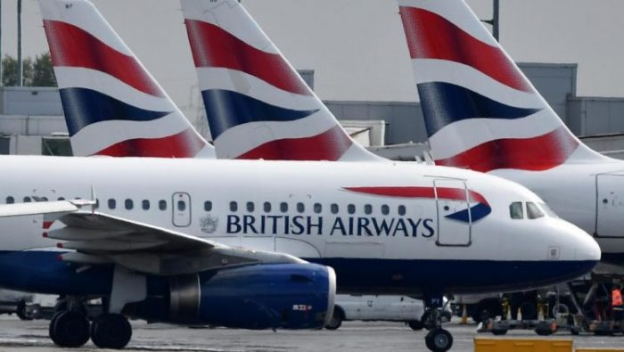 British Airways stops flights to China