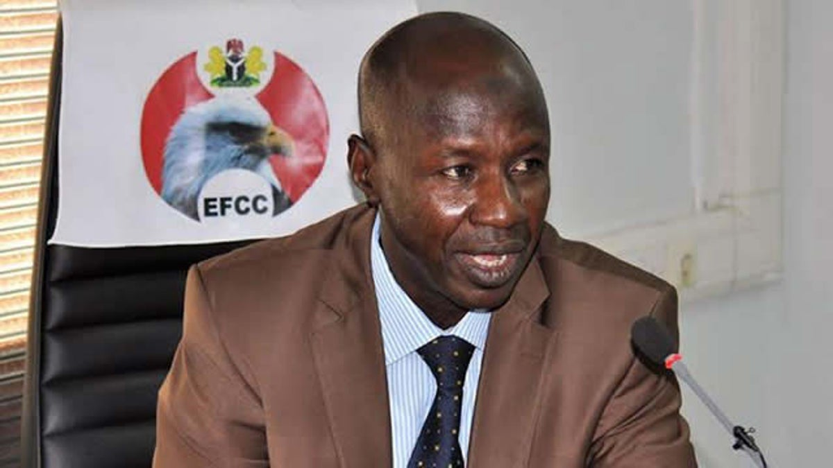 Acting Chairman of the Economic and Financial Crimes Commission, Ibrahim Magu