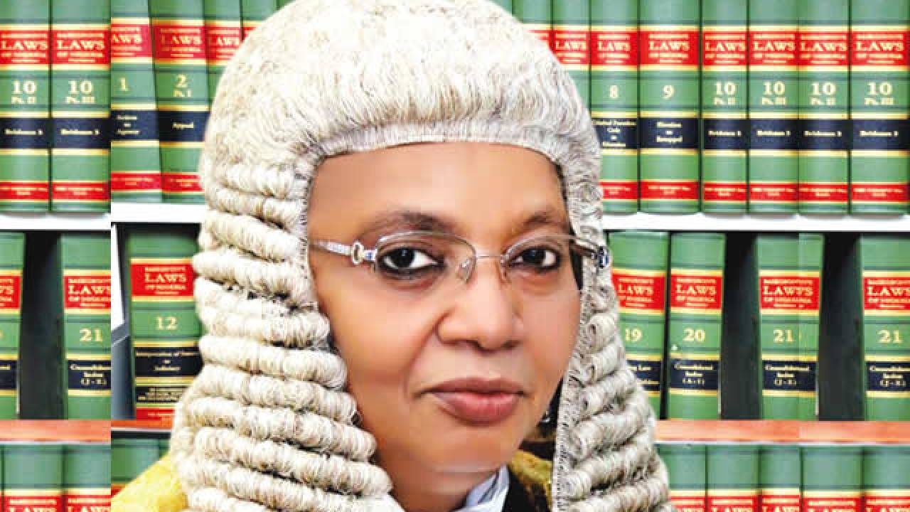 Retiring President of the Court of Appeal, Justice Zainab Bulkachuwa