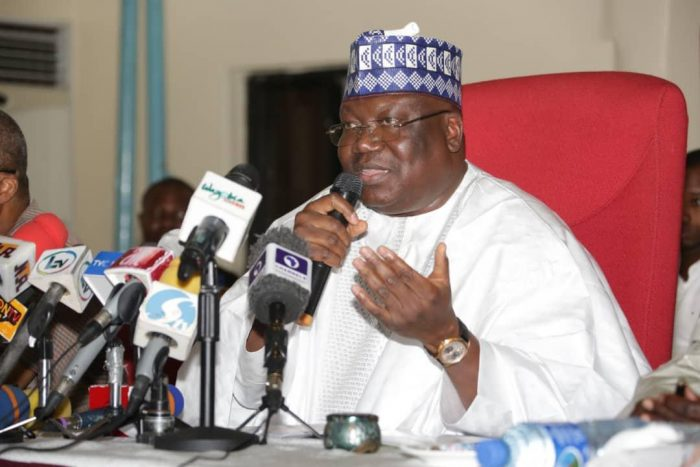 Senate President Ahmad Lawan: holds emergency meeting, orders tight security at National Assembly.