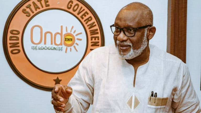 Ondo People Cannot Continue To Live In Fear – Akeredolu