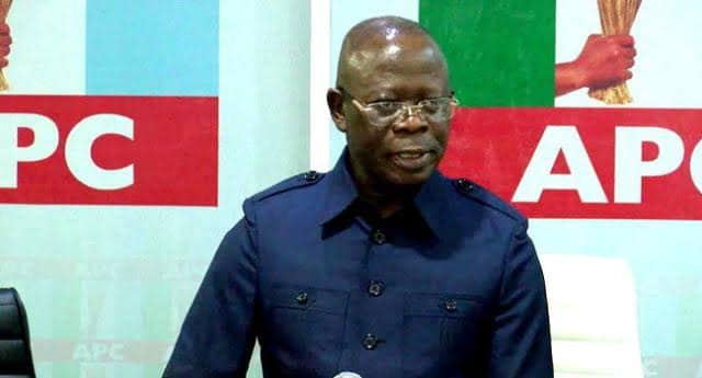 Adams Oshiomhole: Banire blames him for the APC debacle in Bayelsa and other places