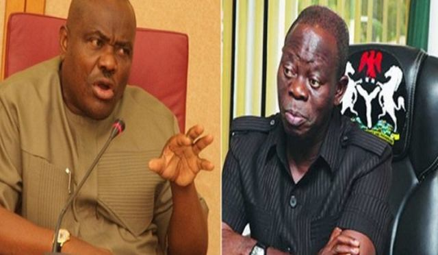 Wike and Oshiomhole