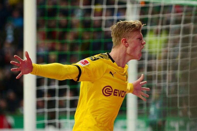 Haaland has scored 12 goals for Dortmund