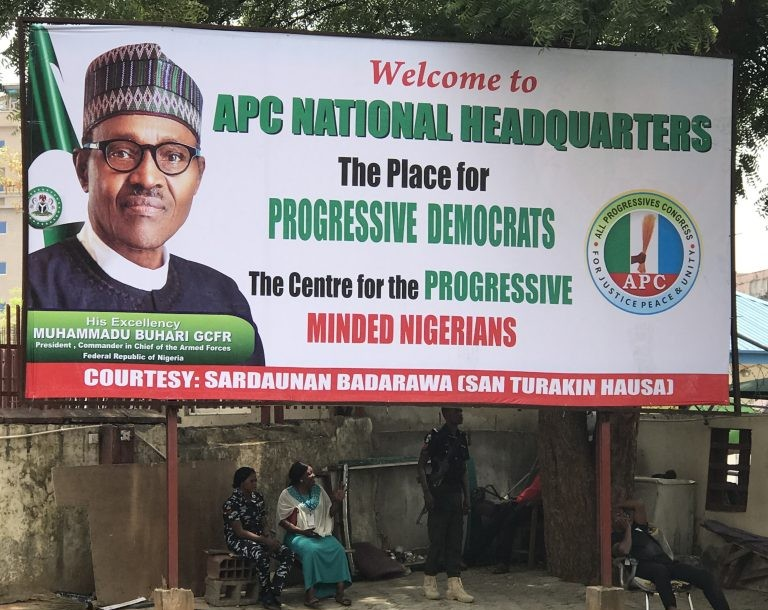 APC Removes Oshiomhole's Pictures, Banners At Secretariat