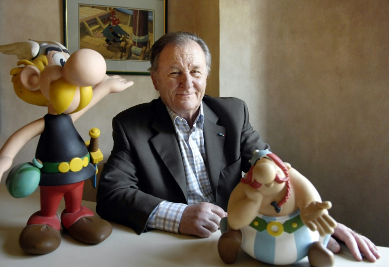 Albert Uderzo 'Asterix' Co-Creator Albert Uderzo Dies At 92