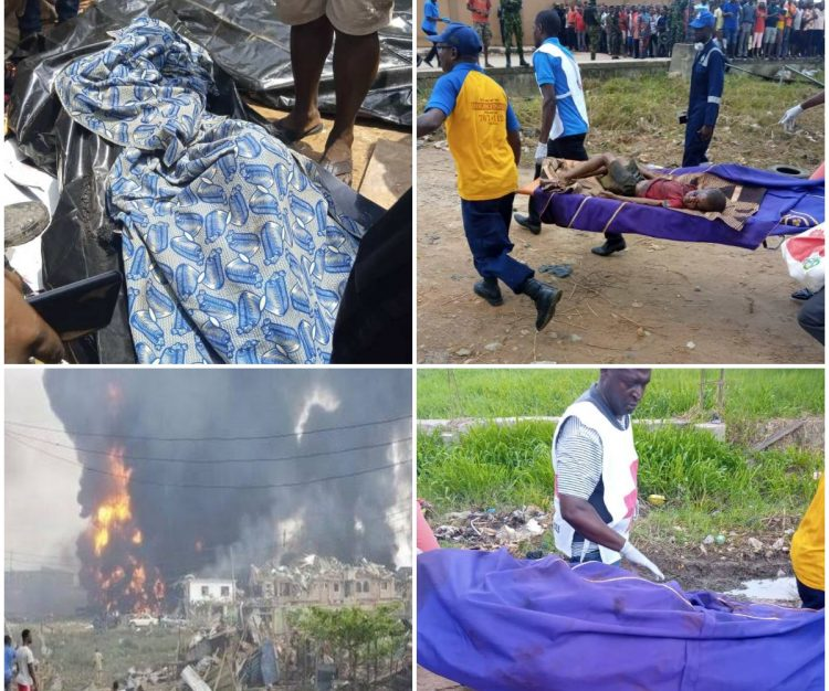 Black Sunday In Lagos - Many Dead, 70 Buildings Destroyed