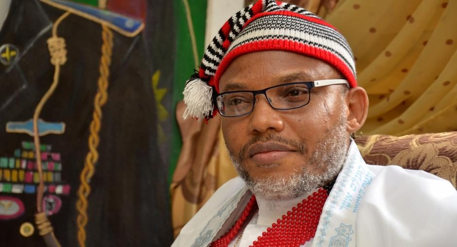 Buhari's Nationwide Broadcast Not Done In Nigeria – Kanu