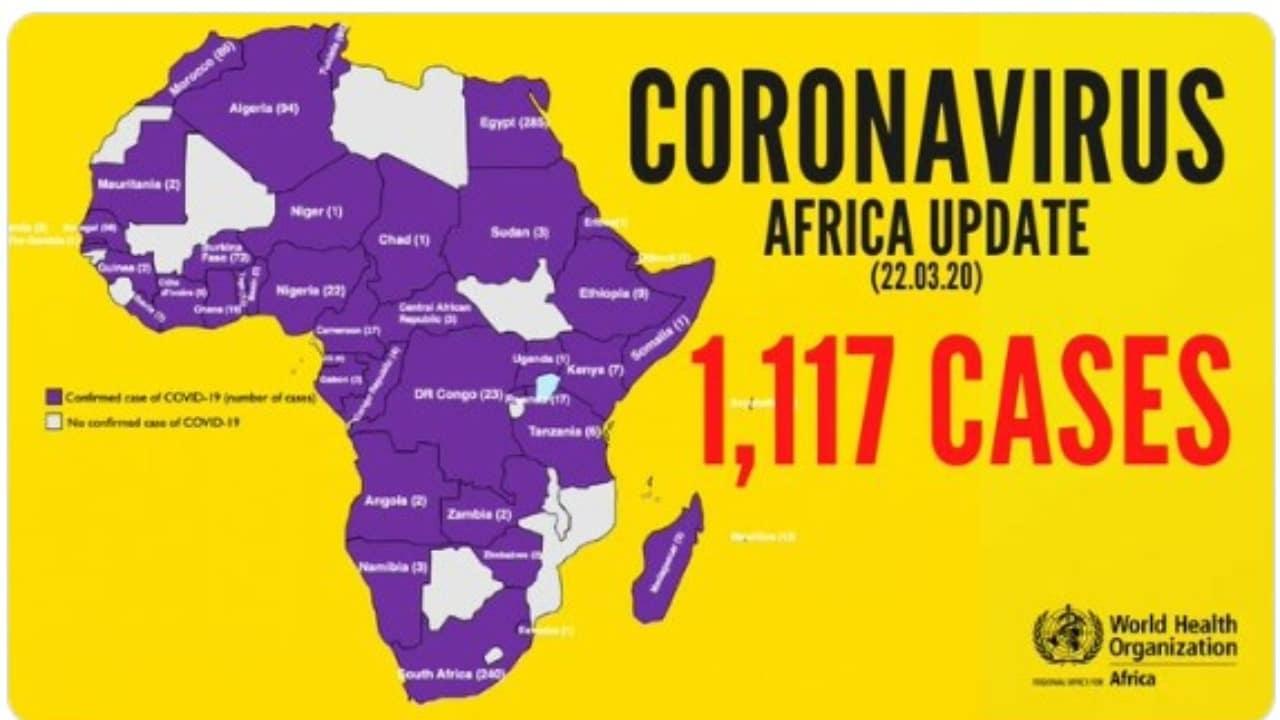 Coronavirus Hits 42 Countries, Kills 33 In Africa – WHO