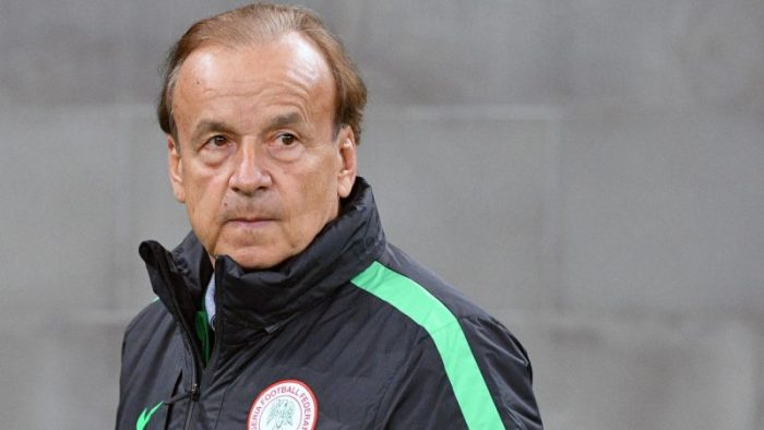 Coronavirus - Rohr Sends Goodwill Message To Nigerians