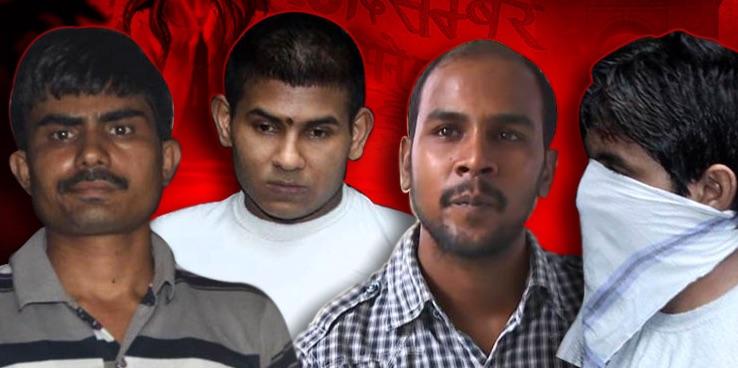 Delhi Bus Rape - India Hangs 4 Notorious Gang-Rapists