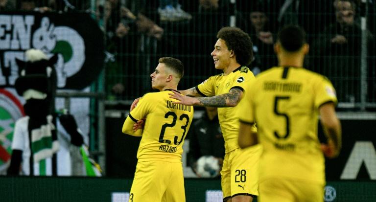 Hazard Inspires Dortmund To Win Over Former Side Gladbach