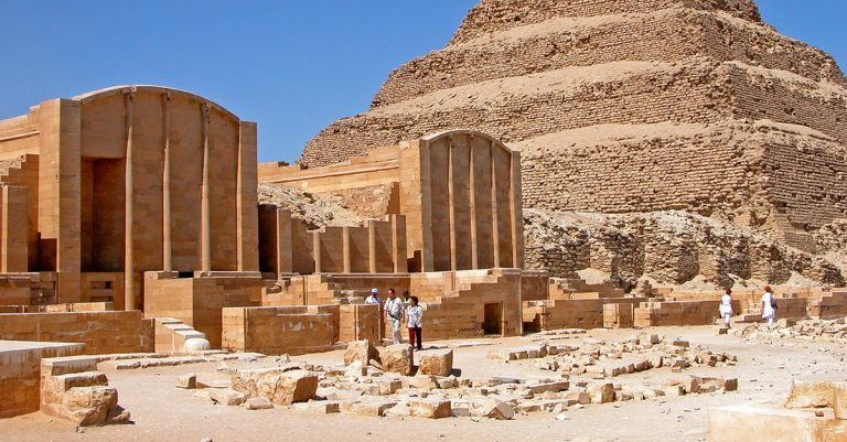 Oldest Egyptian Pyramid Reopens