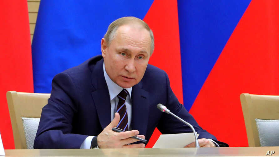 Putin Paves Way For Another Presidential Term
