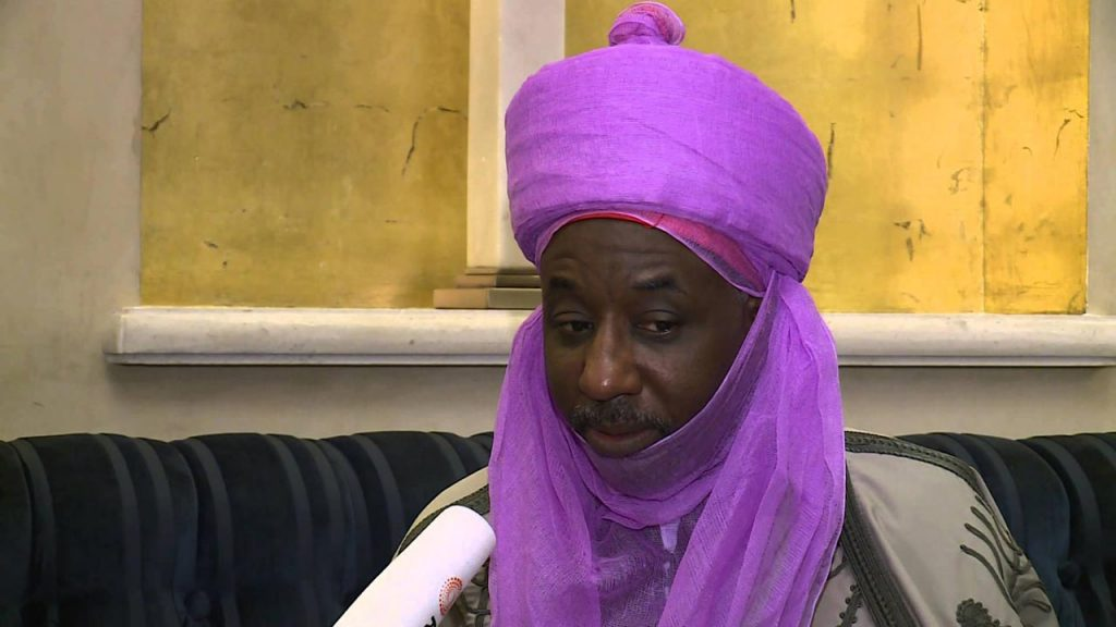 Sanusi Whisked Off Kano State Amid Tight Security