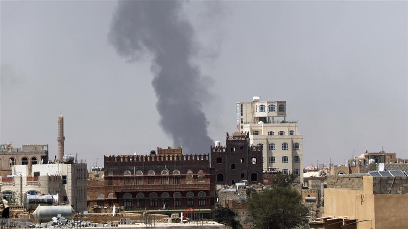 Saudi-UAE Coalition Carries Out Air Raids On Yemen