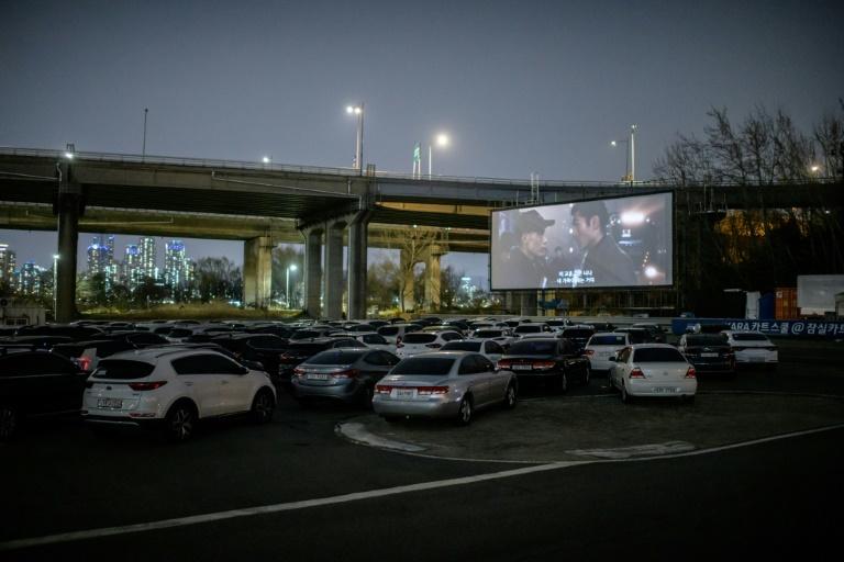 South Korea Drive-In Cinemas Enjoy Sales Boom Over Virus