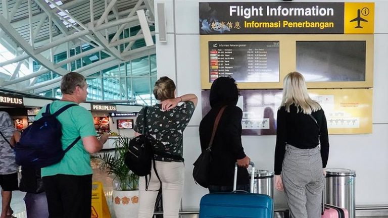 Tourists Stranded At Kuala Lumpur Airport