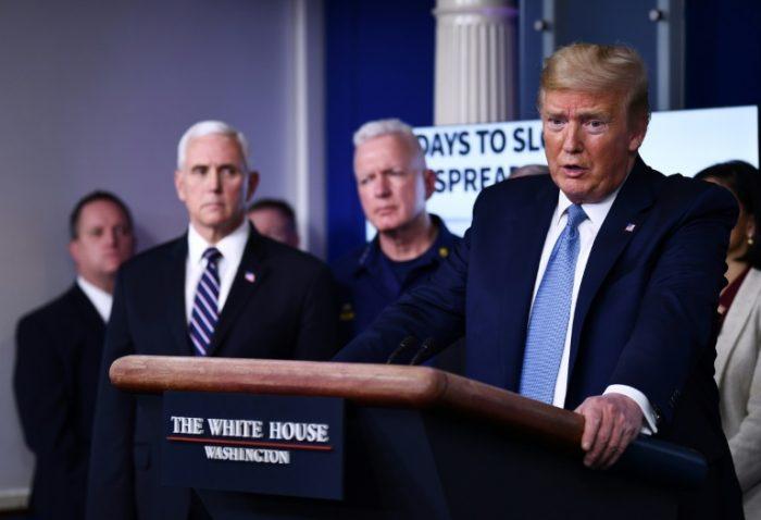 Trump On Coronavirus - We're At War