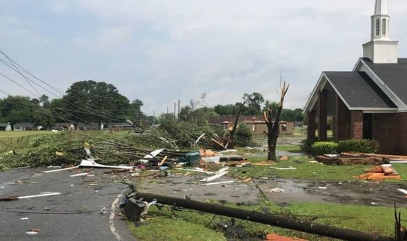 At Least Six Dead As Tornadoes Hit Mississippi