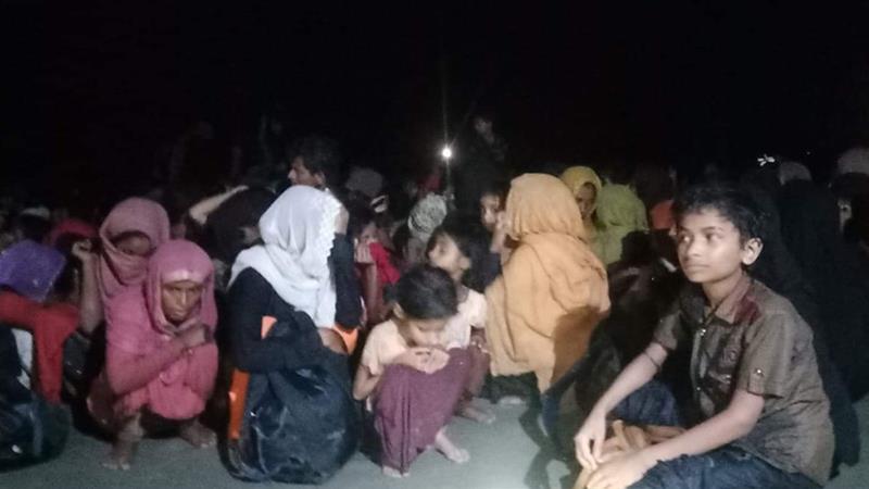 Bangladesh Rescues Hundreds Of Rohingya Stranded At Sea