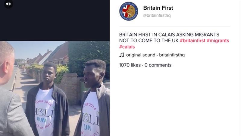 Banned From Facebook, Twitter, UK Far-Right Hits TikTok