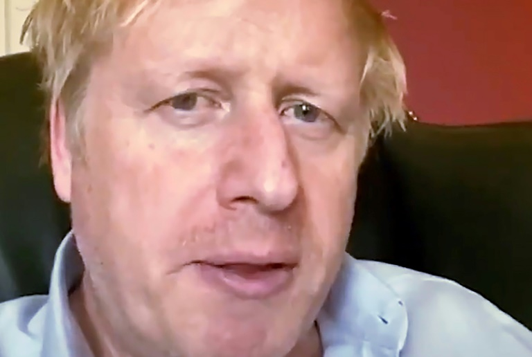 Boris Johnson Britain's Johnson 'Stable' In Intensive Care