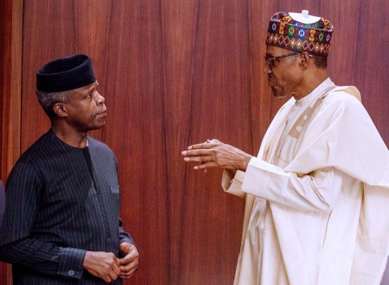 Buhari, Osinbajo Are Earning Half Salaries - Presidency