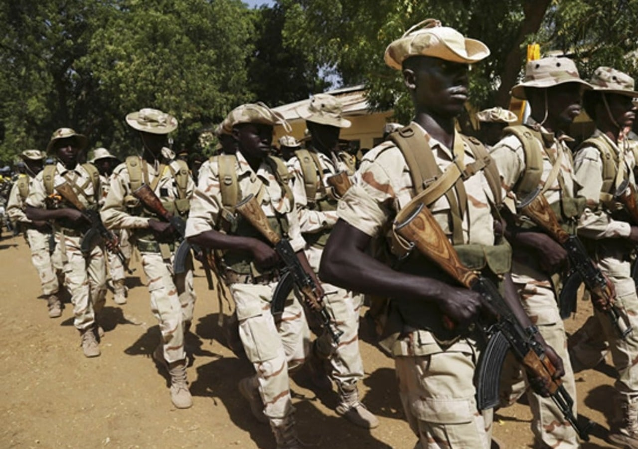 Chadian Troops Free Nigerian Soldiers In Captivity,