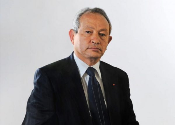 Egyptian Billionaire Sawiris Donates To COVID-19 Fund