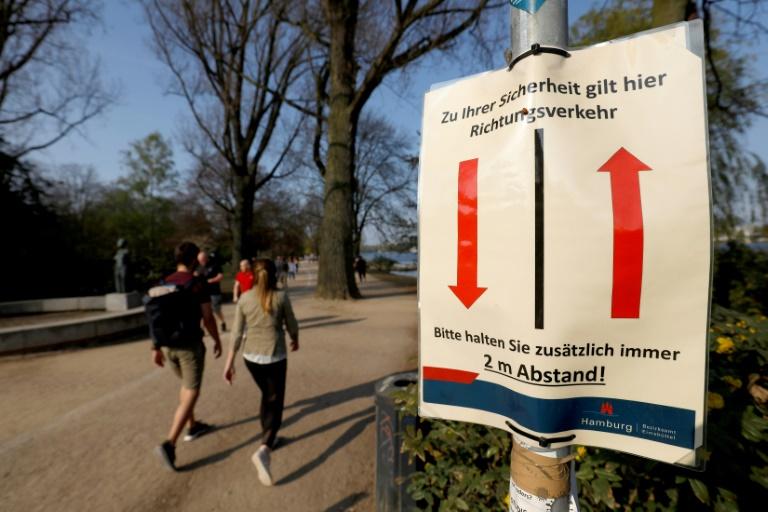 German Virus Cases Stable As Leaders Mull Easing Lockdown
