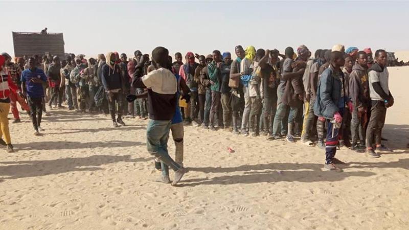Hundreds Of Migrants Stuck In Sahara Amid Pandemic