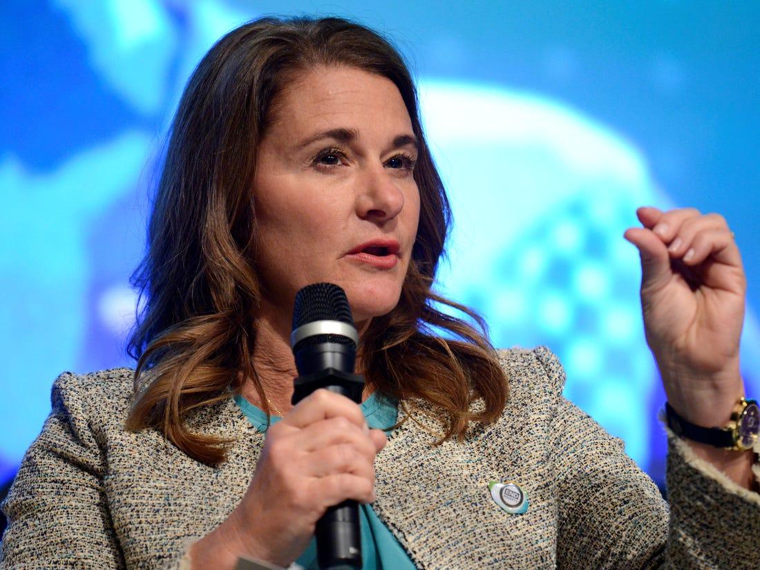 Melinda Gates - I See Dead Bodies Littered All Over Africa