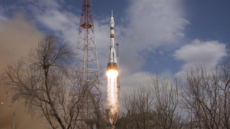 New Rules Apply As US-Russian Space Crew Blasts Off